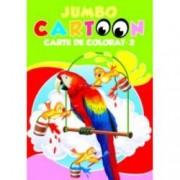 Jumbo Cartoon. Carte de colorat 2
