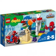 Set de constructie LEGO Duplo Aventurile lui Spider-Man si Hulk