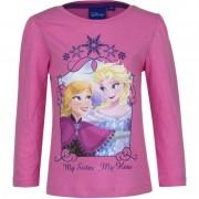 Disney Kindershirt Anna en Elsa roze