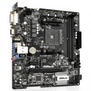 Дънна платка ASROCK Main Board Desktop AM4 A320, 2xDDR4, 1xPCI-E x1, 1xPCI-E x16, HDMI, DVI-D, D-Sub, 4 SATA3, 1 Ultra M.2 NVMe, A320M-HDV