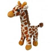 Merkloos Pluche giraffe knuffel 25 cm