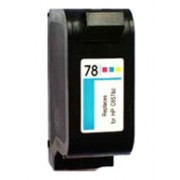 Cartucce HP 78 (C6578D) compatibili per stampanti HP Deskjet 1220c 1280 DJ 3816 1820 6120 6122 6127 920 930 OfficeJet 5110 OJ serie 6 K60 80 v40