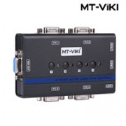 MT-VIKI 4-Port USB KVM Switch with Audio and Mic