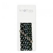 Knotties Braided Elastics Green Licorice 6-p