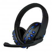 CoolBox Deep Blue G2 Headset Gaming Preto/Azul