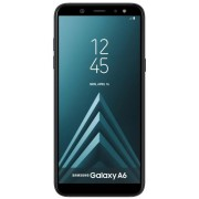 "Telefon Mobil Samsung Galaxy A6 (2018), Procesor Octa-Core 1.6GHz, Super AMOLED capacitive touchscreen 5.6"", 3GB RAM, 32GB Flash, 16MP, 4G, Wi-Fi, Dual SIM, Android (Negru) + Cartela SIM Orange PrePay, 6 euro credit, 6 GB internet 4G, 2,000 minute nationa"