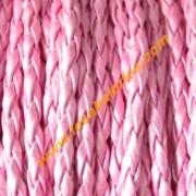 Simil cuero rosa metalizado 3mm (precio por 50 cm)