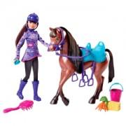 """Y7563 Барби """" Сказка о пони"""" Скиппер с лошадкой"""
