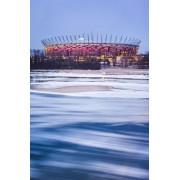 Warszawa Śryżowy Stadion Narodowy - plakat premium