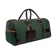 Bagasi SE Weekendväska kanvas XL - British racing green