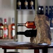 Suport sticle vin - Sandstone Mandras (3 gauri)