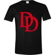 Daredevil - Bloody Symbol Men T-shirt - Black, Size L