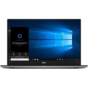 "Ultrabook Dell XPS 7590 (Procesor Intel® Core™ i5-9300H (8M Cache, up to 4.10 GHz), Coffee Lake, 15.6"" FHD, 8GB, 256GB SSD, nVidia GeForce GTX 1650 @4GB, FPR, Win10 Pro, Argintiu)"