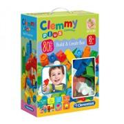 Clemmy - Set constructie baieti, 80 de piese