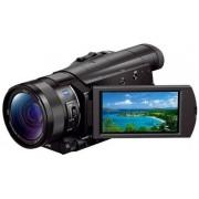 Camera Video Sony AX100, Filmare 4K, Zoom optic 12x, Stabilizare optica de imagine (Negru)