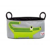 3 Sprouts Bolso Organizador Carro Bebé Cocodrilo