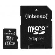 Intenso Premium-microSDXC-Speicherkarte 128 GB, Class 10 / UHS-I