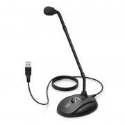 Fifine K052 Cardioid USB Flexible Gooseneck Condensor Microphone - Black