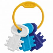 Chicco 63216200000 - Mordedor Con Diseño De Llavero Color Azul