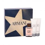 Giorgio Armani Acqua di Gio Absolu confezione regalo eau de parfum 40 ml + doccia gel 75 ml + balsamo dopobarba 75 ml per uomo
