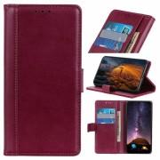 Bolsa Tipo Carteira Premium para Samsung Galaxy A30, Galaxy A20 - Vermelho