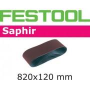 Festool SA Slipband för CMB120, 820x120mm, 10-pack P50