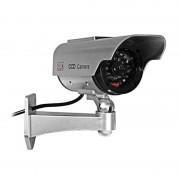 Camera supraveghere falsa dummy camera, ABS, panouri solare sau 2 baterii AAA