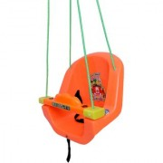 Baby Swing with Horn and Music. (Orange)
