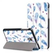 Notesz / mappa tok - oldalra nyíló flip cover, TRIFOLD asztali tartó funkció, mágneses záródás - MADÁRTOLL MINTÁS - SAMSUNG SM-T380 Galaxy Tab A 8.0 (2017) / SAMSUNG SM-T385 Galaxy Tab A 8.0 (2017) (4G/LTE)