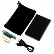 ER Mini Portátil De 2,5' USB 2.0 DISCO DURO SATA HDD CASO Chasis Para PC