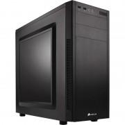 Carcasa Carbide 100R, MiddleTower, Fara sursa, Negru