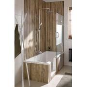 HSK Duschkabinenbau KG HSK Duschbadewanne Dobla, 170x75cm, Einstieg rechts, mit Antislip, 540171-A 540160