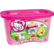 Set constructie Unico Plus Hello Kitty Galetusa 73 piese