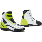 Forma Axel Motorcycle Boots White Yellow 47