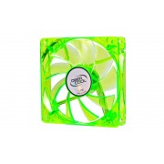 FAN, DeepCool Xfan, 120mm, Green LED, 1300rpm (DP-FLED-XF120GB)