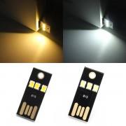 Meco 0.2W White/Warm White Mini USB Mobile Power Camping LED Light Lamp