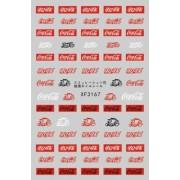 Coca-Cola körömmatricák
