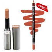 Buy GlamGals Crme Matte Lipstick Coffee 3 gm & Get Lip Liner Pencil Free