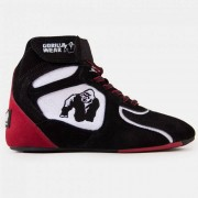 "Gorilla Wear Chicago High Tops - Black/White/Red ""Limited"" - Maat 37"
