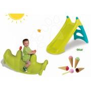 Smoby balansoar pentru copii Focă, tobogan Winnie The Pooh şi Écoiffier îngheţată 310159-7
