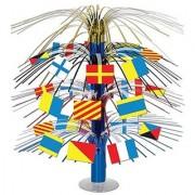 Nautical Flag Cascade Centerpiece Party Accessory (1 Count) (1/Pkg)