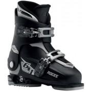 Roces Chaussures Ski Roces Idea Up 6in1 Ajustable Junior (Noir/Argent)