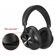 Casti Bluedio T7+ HiFi Bluetooth 5.0 115 dB Difuzoare de 57mm Card memorie Control vocal 4 microfoane Izolare zgomot reglabila