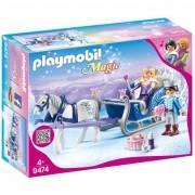Playmobil magic slitta con coppia reale 9474