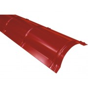 Coama nervurata Precit Roof 2 m rosu