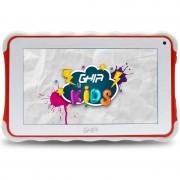 Tablet Ghia Kids 7 Toddler GTAB718R / Quadcore / 1GB / 8GB / 2CAM / wifi / Bluetooth / Android 8.1 / Go Edition / Roja
