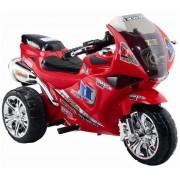 Baby Mix elektromos háromkerekű motor piros színben