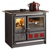 Nordica Cucina a legna mod. rosa xxl nero antr.