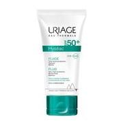 Hyséac fluido protetor solar spf50 pele mista a oleosa 50ml - Uriage