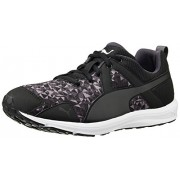 Puma Women's Evader XT Graphic Wn s Black and Periscope Mesh Running Shoes - 8 UK/India (42 EU)